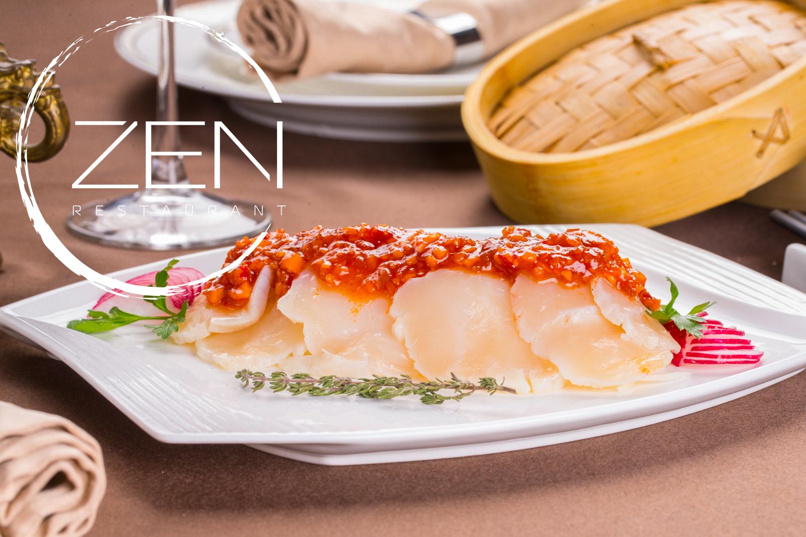 Фотосъемка меню для ресторана | ZEN