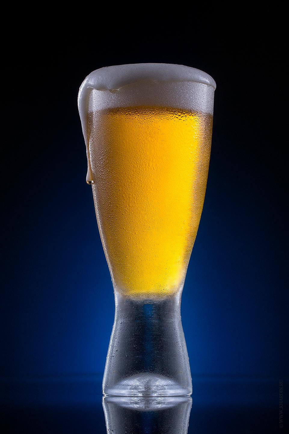 Бокал пива   Beer in glass
