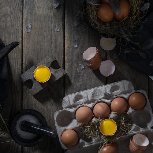 Rusctic food proj. | Eggs