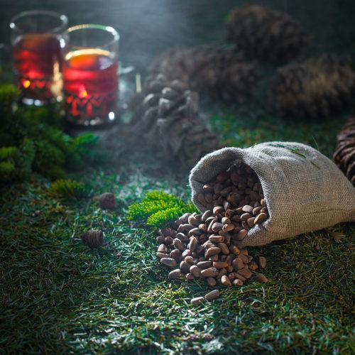 Rusctic food proj. | Pine nuts