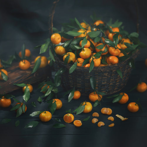 Rusctic food proj. | Tangerine