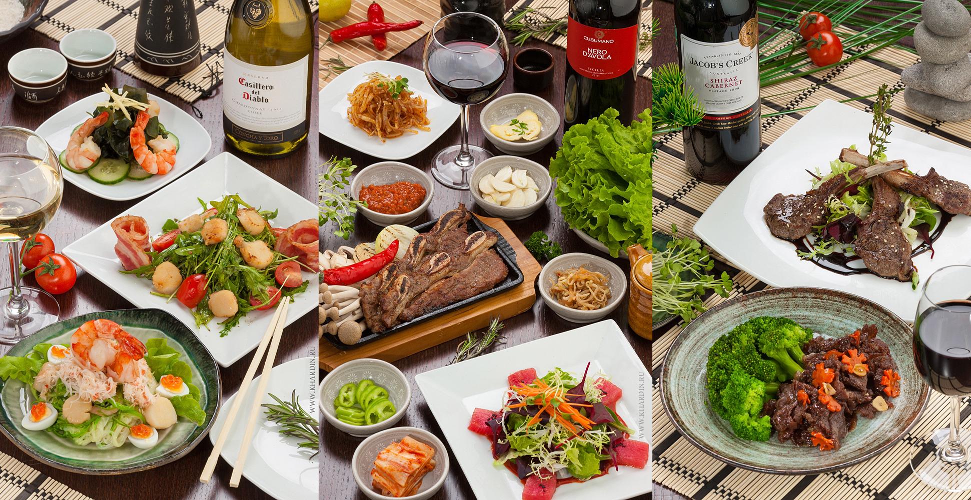 Фотосъемка меню для ресторана | OSAMA