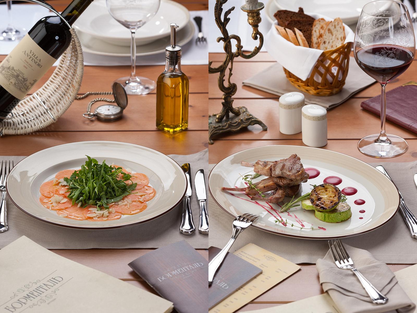 Фотосъемка меню для ресторана | Борменталь