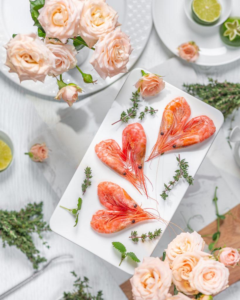 Морепродукты | Северная креветка | День святого Валентина