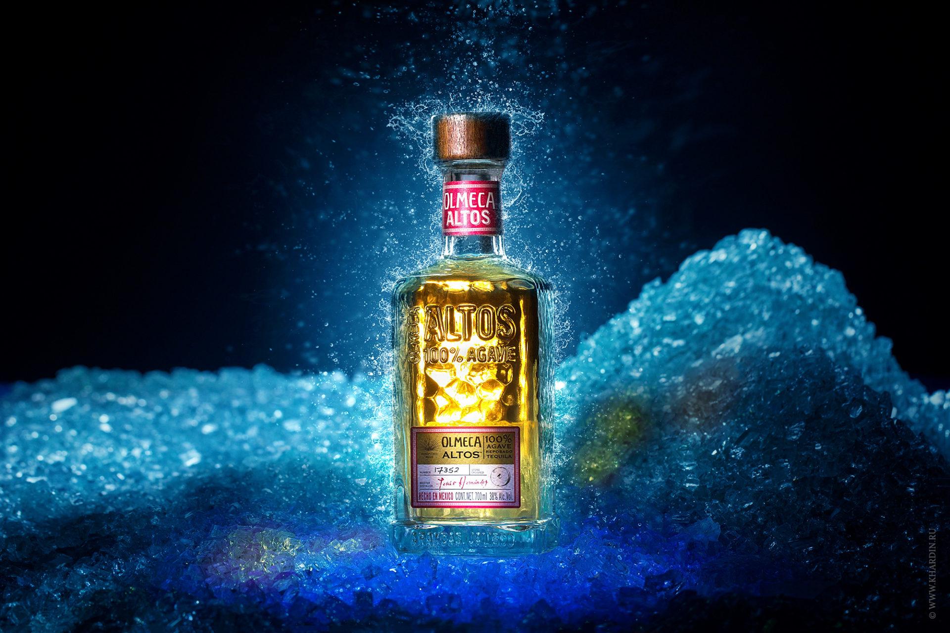 Предметная фотосъемка алкогольных напитков
